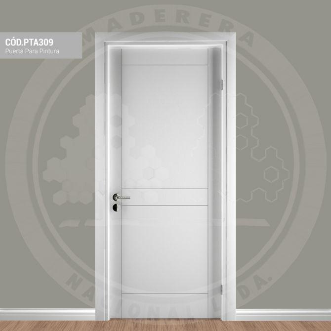 Puerta para pintura pta309 maderera nacional - Pintura para puertas ...